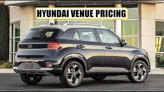 HYUNDAI VENUE LEAKED PRICING AND ALL FEATURE DETAILS