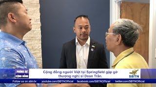 PHÓNG SỰ CỘNG ĐỒNG: Cộng đồng người Việt tại Springfield gặp gỡ Thượng Nghị Sĩ Dean Trần