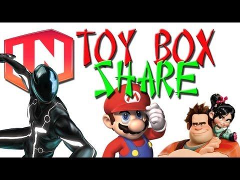 Disney Infinity: Toy Box Share - Super Sidescroll, Trench Run, Sugar Mania