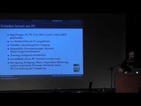 Datenspuren 2011, Chaos Computer Club Dresden: Killerspiele und Gewalt
