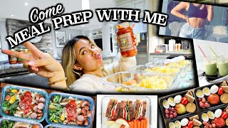 HEALTHY MEAL PREP! What I eat for breakfast, lunch and dinner (Easy for beginners)