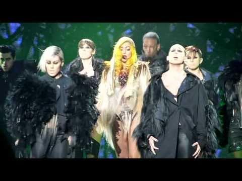 Lady Gaga - Monster [The Monster Ball @ Malmö Arena, 19/11, 2010] HD
