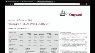Invest Like the Pros: How to Open a Vanguard Stocks and Shares ISA and Invest in a World Tracker