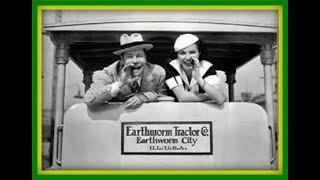 "❤1936 COMEDY ROMANCE ""Earthworm Tractors"" Classic Movie Film Full Length TCM Black and White"