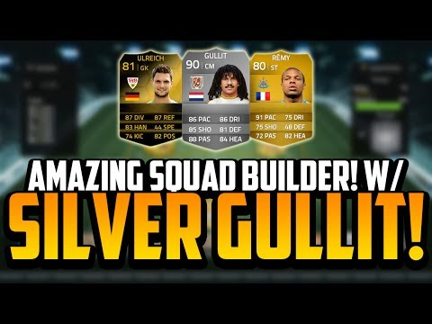 CHEAP SQUAD BUILDER! w/ THE SILVER GULLIT! | FIFA 14 Ultimate Team