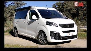 Prueba a fondo Peugeot Traveller by Tinkervan / Review / Test