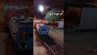 Đi xe lửa ở nhà Văn Hóa Thiếu Nhi