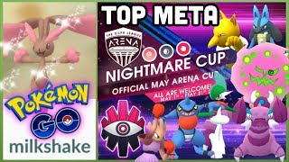 NEW SHINY FOUND IN POKEMON GO | Nightmare Cup meta list & my thoughts