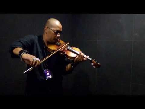 ARI SANTOSA - GUGUR BUNGA violin instrument