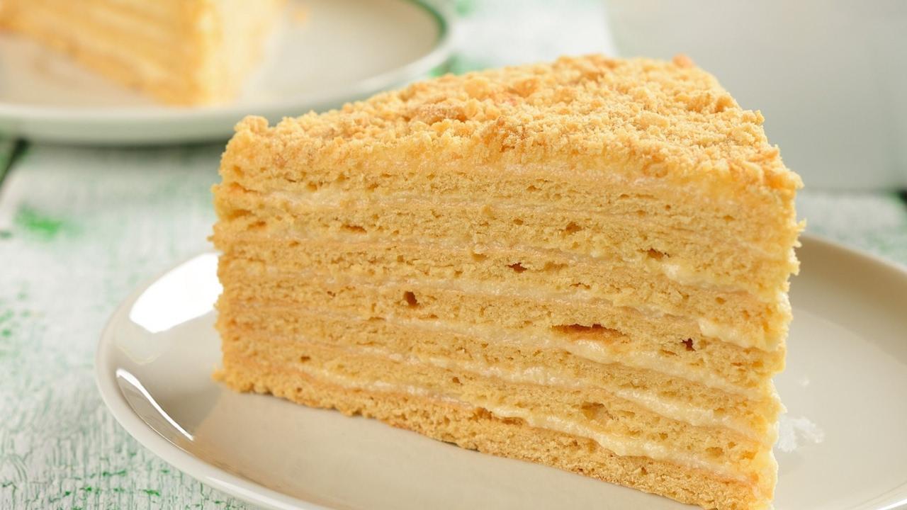 Самые вкусные рецепты тортов наполеон
