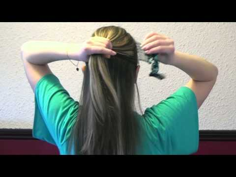 Quick and easy hair style with easy double comb
