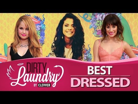 Best Dressed Kids Choice Awards 2014 - Selena Gomez, Ariana Grande (Dirty Laundry)