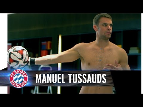 Manuel Neuer wax figure at Madame Tussauds