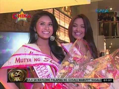 24 oras 30 candidates ng mutya ng pilipinas 2012 ipinakilala na 24