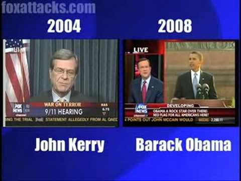 FOX Attacks Obama Like Kerry