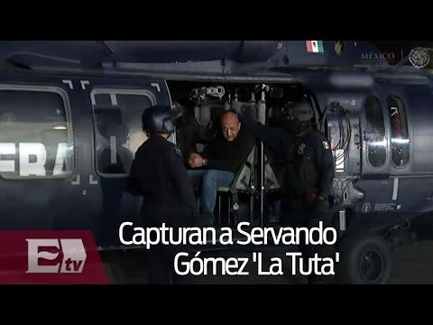 """Traslado de Servando Gómez La Tuta al penal de """"El Altiplano"""""""