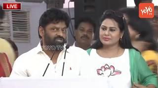 Actor Vinod Bala Speech @Chandrababu Naidu Dharma Porata Deeksha at Vijayawada