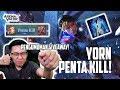 Yorn PENTA KILL! Kakek Legend Beraksi Dengan Frost Cape! Pengumuman Giveaway!