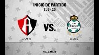 ATLAS X SANTOS AO VIVO 31/03/2018