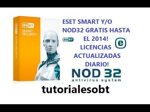 | Licencias de ESET Smart Security y/o Nod32 (FÁCIL) | ACTUALIZADO DIARIO |