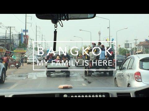 BANGKOK | My Family Arrives!