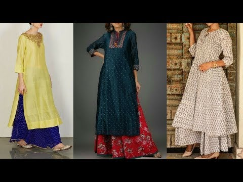 Top 15 Sharara Dress Designs For Girls(Pakistani Sharara Suits Collection)2017-18