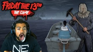 THE MOST INTENSE GAMES OF MY LIFE!! | Friday the 13th: The Game | #2