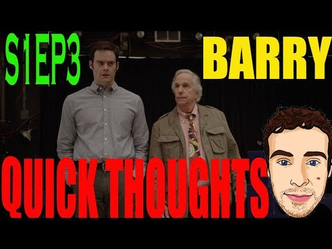 Barry - Episode 3 Review