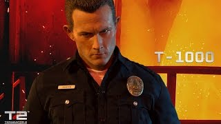 Enterbay - t-1000 - terminator 2 - 1/4 - hd masterpiece - french review francaise