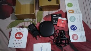 Reliance Jio MiFi JioFi device Insert Jio 4G SIM Review