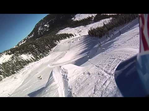 John Jackson First Run at Red Bull Supernatural - Full Contour+ POV Top to Bottom Snowboarding