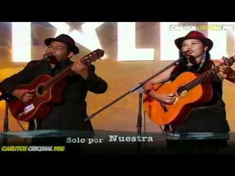 Colombia Tiene Talento - DUETO ARMONIA - Cantantes - 9 de Marzo de 2012.