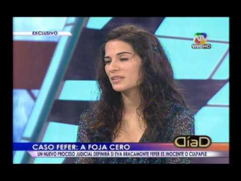DIA D - REPORTAJE Y ENTREVISTA A EVA BRACAMONTE FEFER 29/09/2013