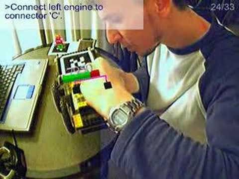 AR Lego - Machine Maintenance in Augmented Reality (2004)