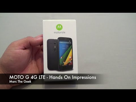 MOTO G 4G LTE Hands On Impressions & Review (New Version)