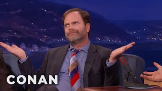 "Rainn Wilson's Message For ""Office"" Fans  - CONAN on TBS"