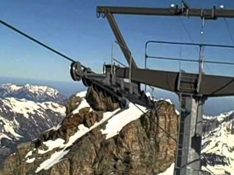 Ice Flyer Chairlift To Titlis Glacier Park