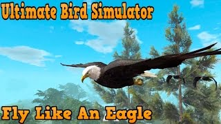 """Ultimate Bird Simulator -""""Fly like An Eagle"""" - By Gluten Free Games Simulation - iTunes/Android"""