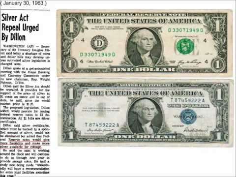 U.S. silver history 1961 to 1974: Step by step from silver and gold backed dollars to ?