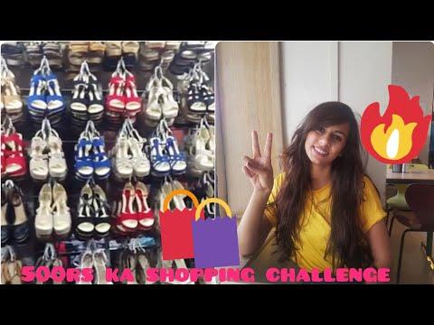 500 Rs Shopping Challenge | F.C Road | F & F | Fashion and food | Pune | with - Radhika Singh