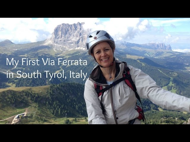 My first Via Ferrata in South Tyrol, Piccola Cir in the Italian Dolomites