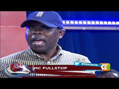 MC Fullstop's sobering revelation about alcohol, sickness #10Over10