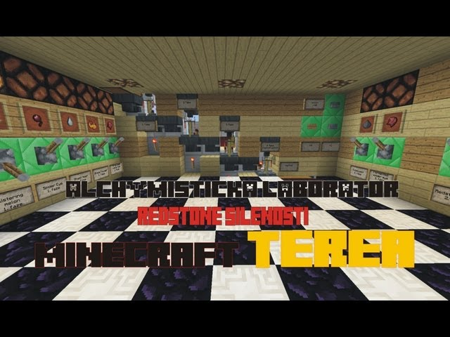 Minecraft - Alchymistická laboratoř