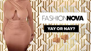 FASHION NOVA CURVE TRY ON HAUL | UK 2019