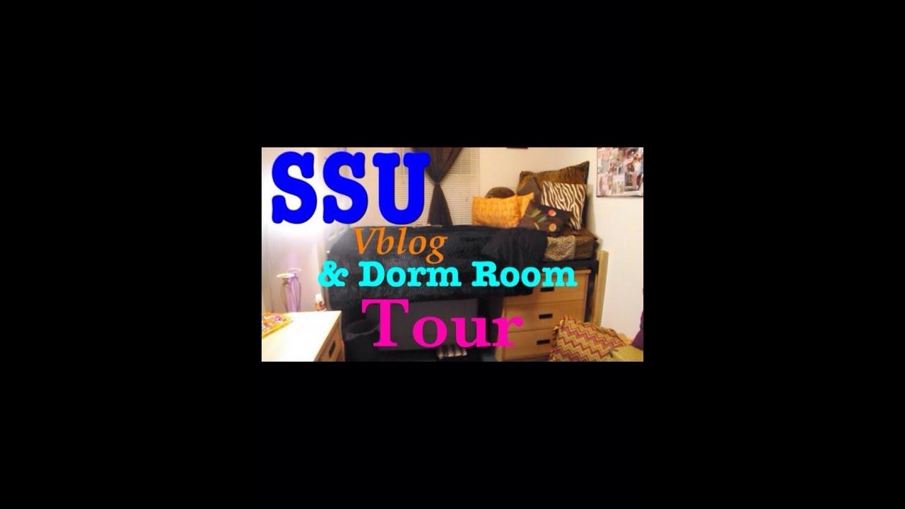 Vlog Ssu Savannah State Dorm Room Tour Richard