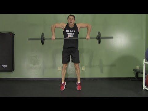 MMA Weight Training - HASfit MMA Strength Training - MMA Strength Workout - Weight Lifting Image 1