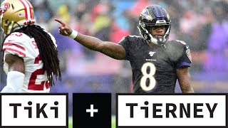 Ravens vs. 49ers Lived Up To The Hype | Tiki + Tierney