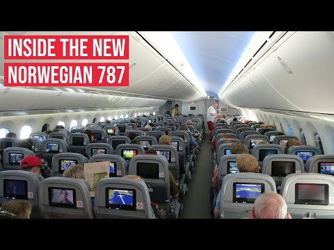 NEW Norwegian Boeing 787 Dreamliner ✈ In-Flight Impressions