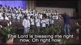 """The Lord Is Blessing Me Right Now"" FBCG Young Adult Choir"