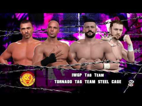 WWE 2k16 RING Of HONOR Wrestling AND New JAPAN Pro Wrestling univers mode